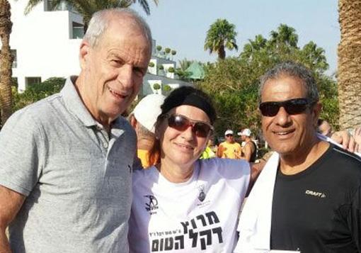 מאיר יצחק הלוי, יורם ארשנטיין ואביבה דקל (אלעד חמני)