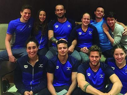 תמונת הנבחרת בצרפת: אתר איגוד השחייה